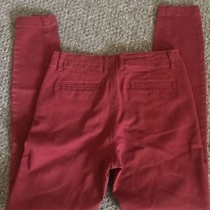 Red/Pink 28' High Waisted Skinny Jeans